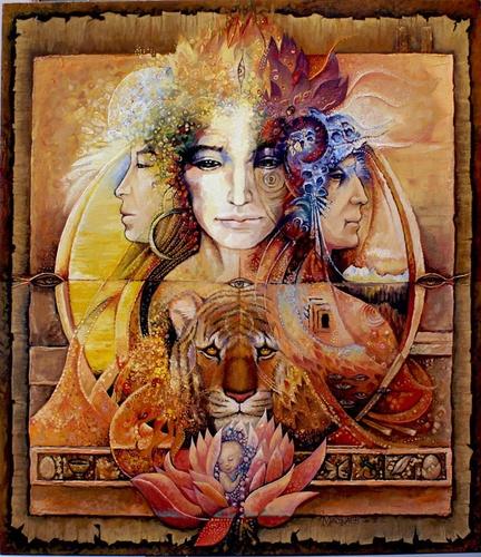 Возраст шамана - картина А.В.Маскаева