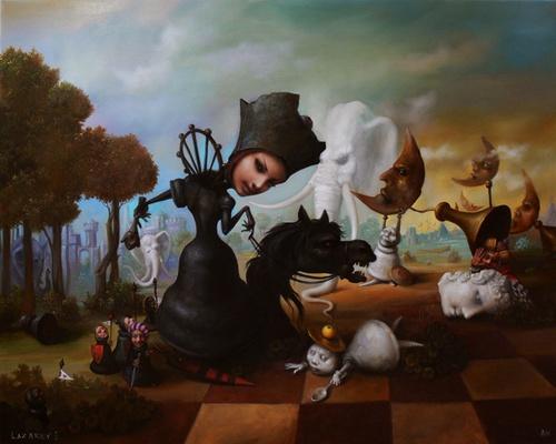 Ход черной королевы - картина И.А.Лазарева